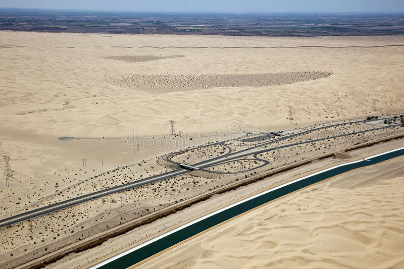 Download California - Mexico Border stock photo. Image of irrigation - 26091198