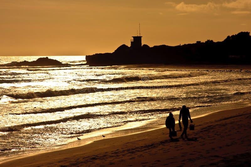 Download California Oceanu Pacific Zmierzch Obraz Stock - Obraz złożonej z pokojowy, piasek: 13328223