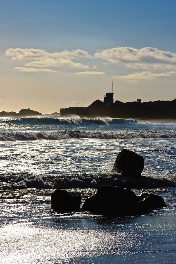 Download California Oceanu Pacific Zmierzch Obraz Stock - Obraz złożonej z pokojowy, zatoczka: 13328353