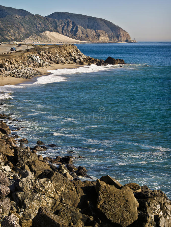 Free California Pacific Coast Highway Royalty Free Stock Photography - 22702107