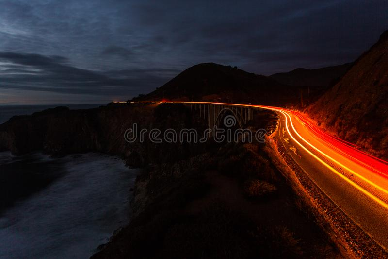California Route 1, United States royalty free stock image
