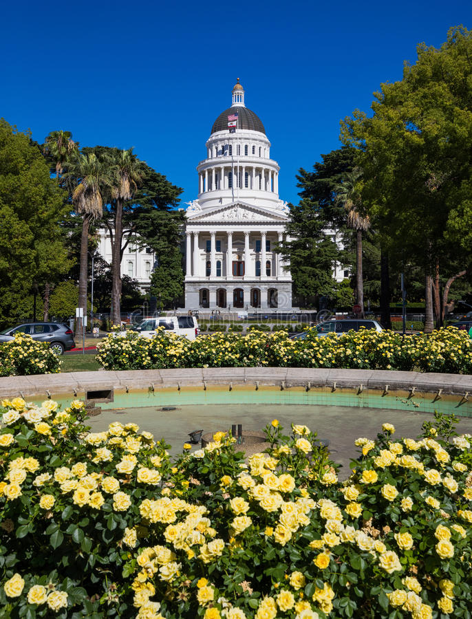 California State Capitol stock photography