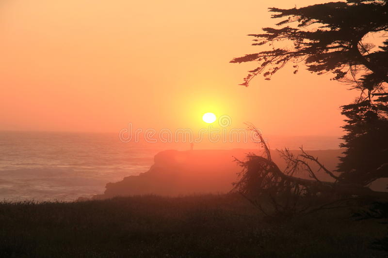 Download California Sunset stock image. Image of scenic, beauty - 25837715