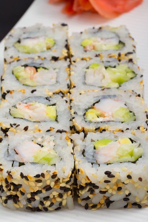 California Sushi Roll Stock Photography