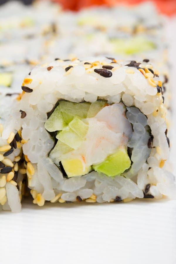 Download California sushi roll stock image. Image of chopsticks - 34622139