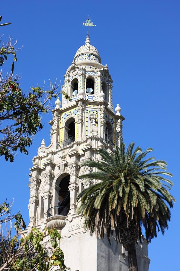 California Tower in Balboa Park 1 stock image