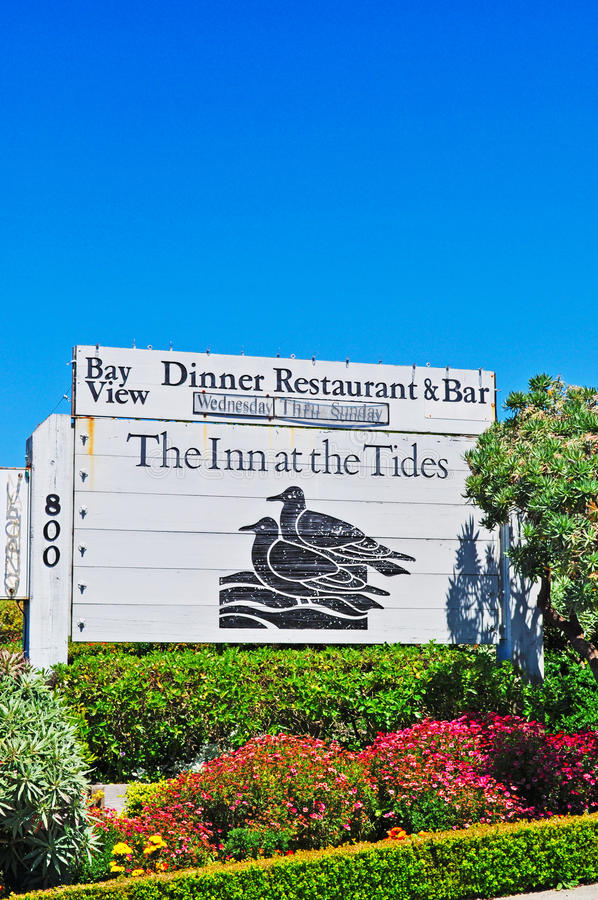 California, United States of America, Usa. The Inn at the Tides in Bodega Bay on June 13, 2010. The Inn att the Tides is one of the most famous hotel and stock photography