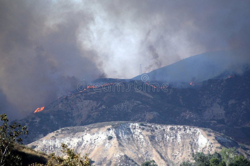 California Wildfires royalty free stock images