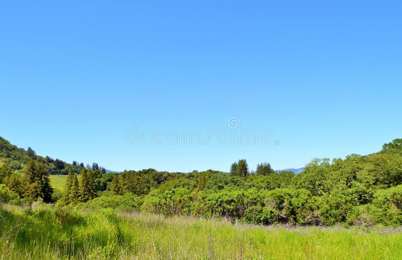 California Wine Country Beautiful Sonoma stock images