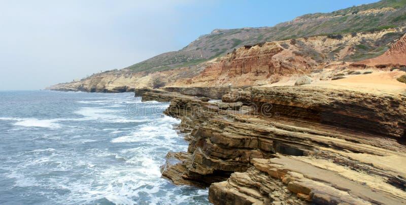 california wybrzeże obrazy stock