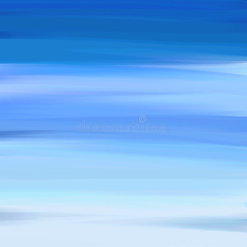 Calina azul ilustración del vector
