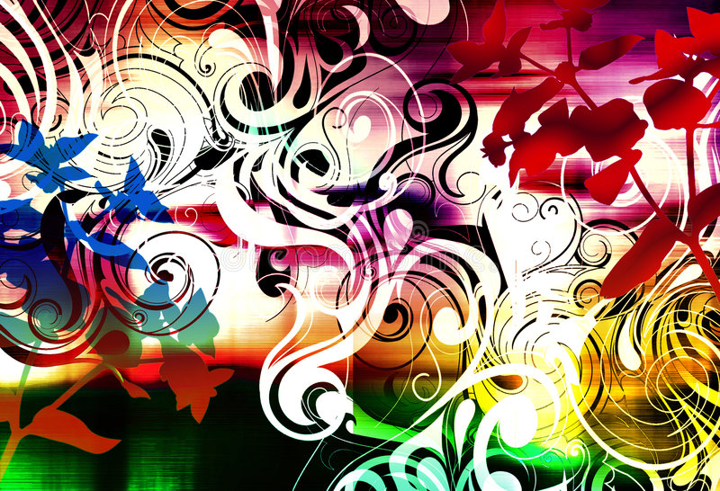 Download Calina púrpura stock de ilustración. Ilustración de extracto - 7279516