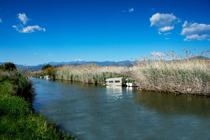 Calis Canal royalty free stock images