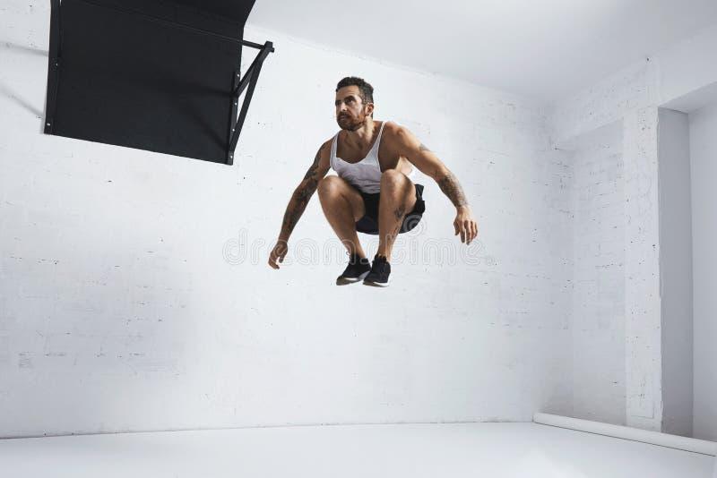 Calisthenic och bodyweightövningar royaltyfri fotografi