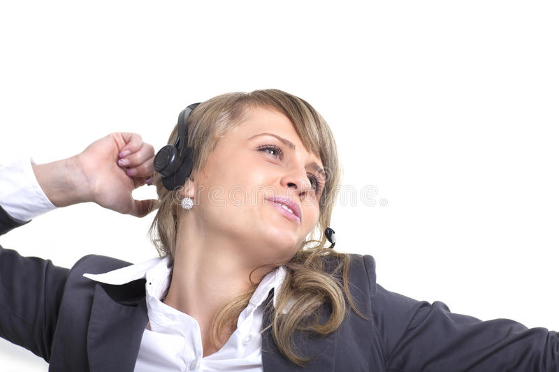 Download Call Center Agent stock image. Image of foreground, friendly - 16616345