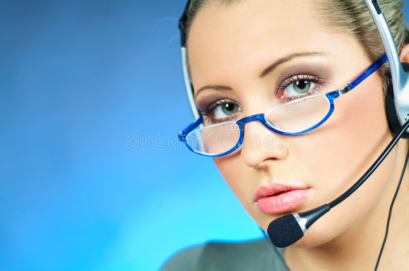 Download Call Center Agent Stock Photography - Image: 590232