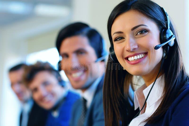 Call-Center-Betreiber lizenzfreies stockfoto