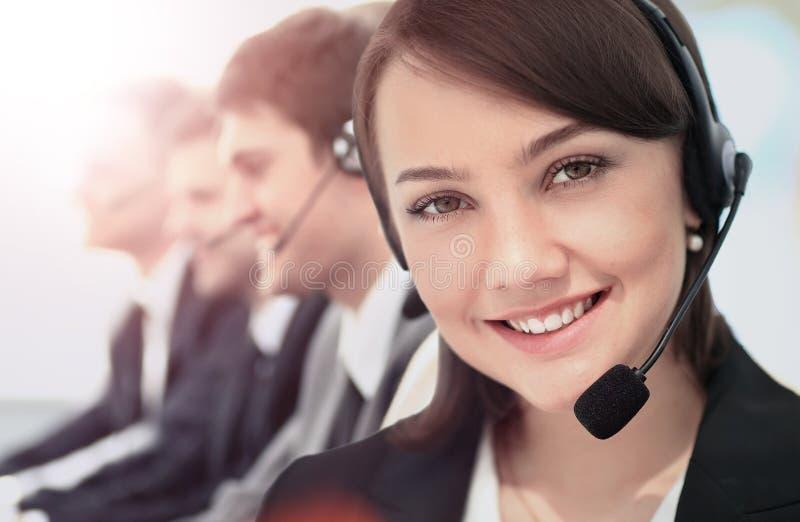 Call-Center, Betreiber, Frauen lizenzfreie stockbilder