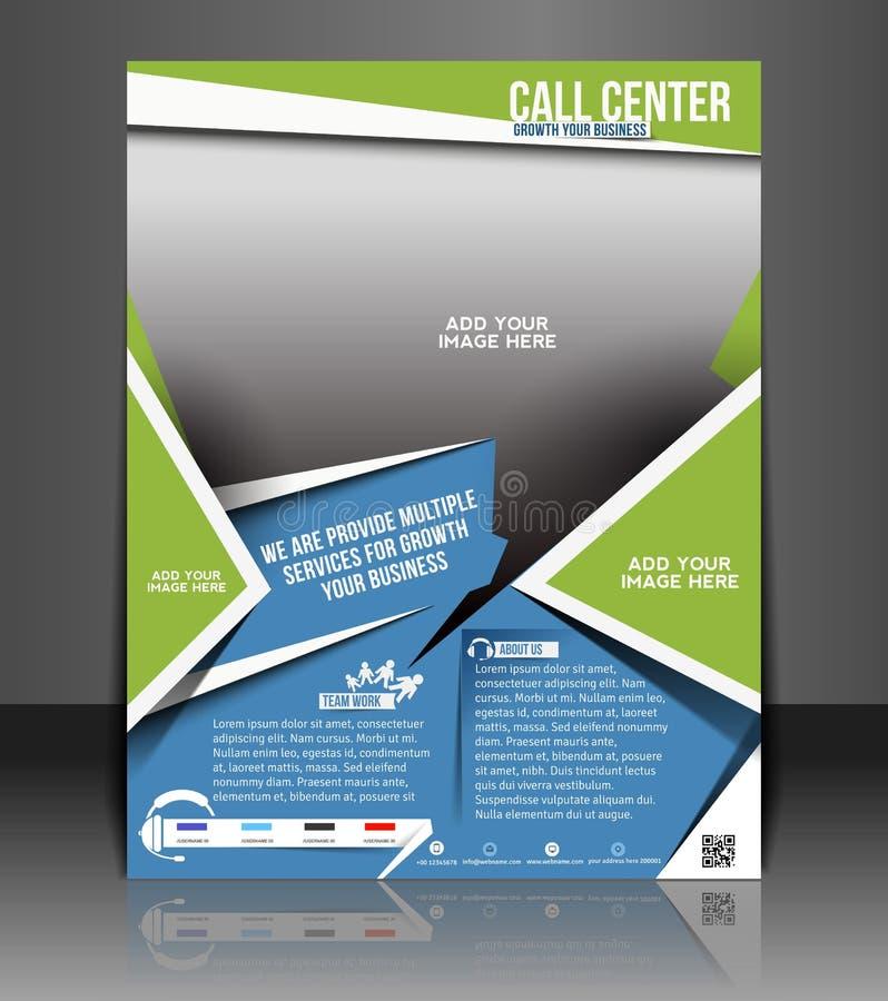 Free Call Center Flyer Stock Photos - 41149813