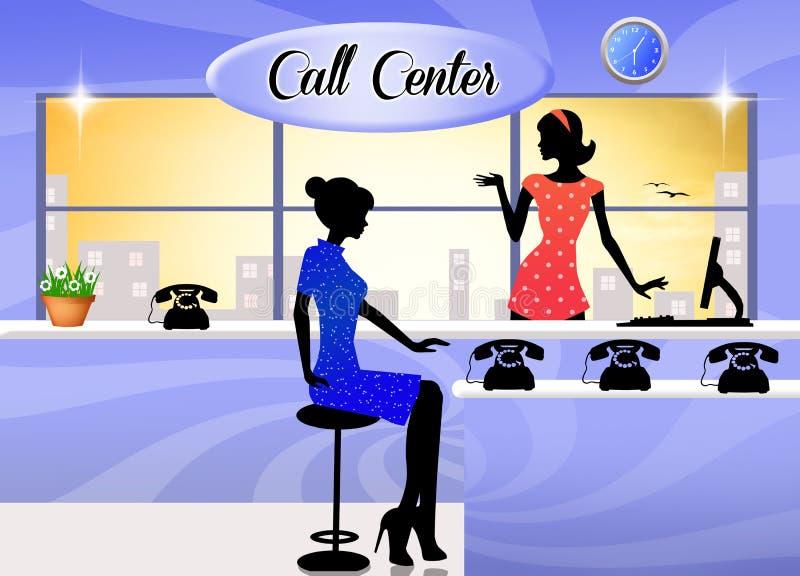 Download Call center stock illustration. Illustration of business - 35039096