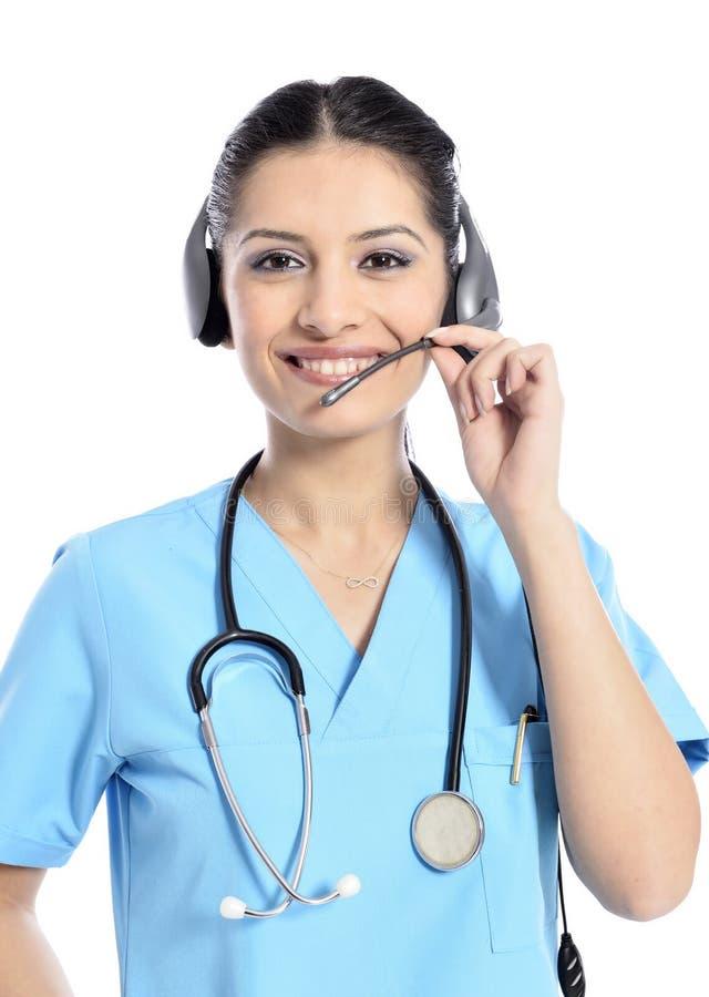Call center medica immagini stock