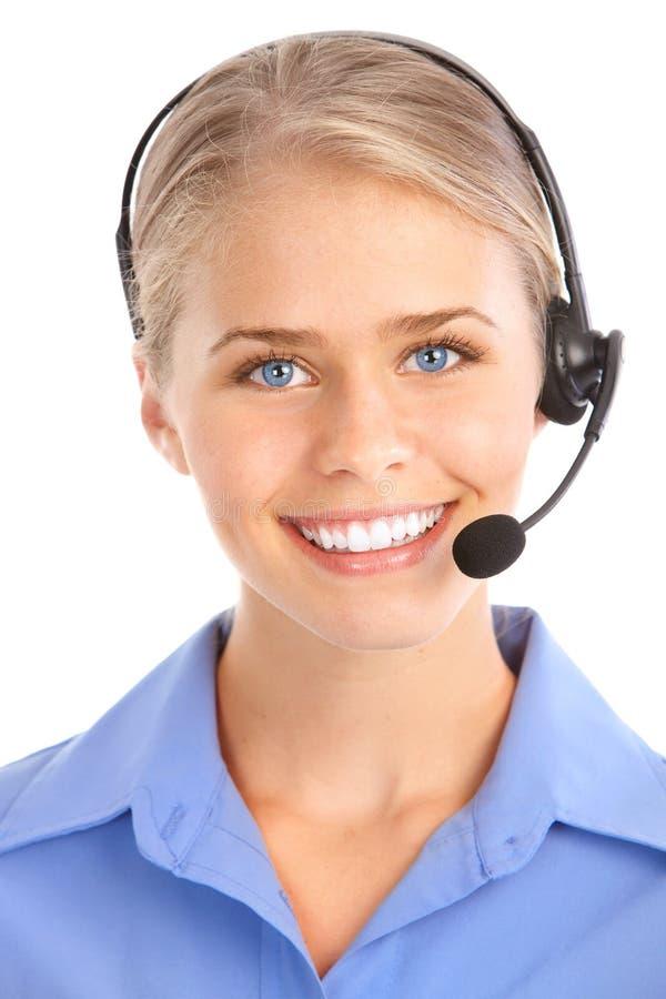 Free Call Center Operator Royalty Free Stock Photo - 15402875
