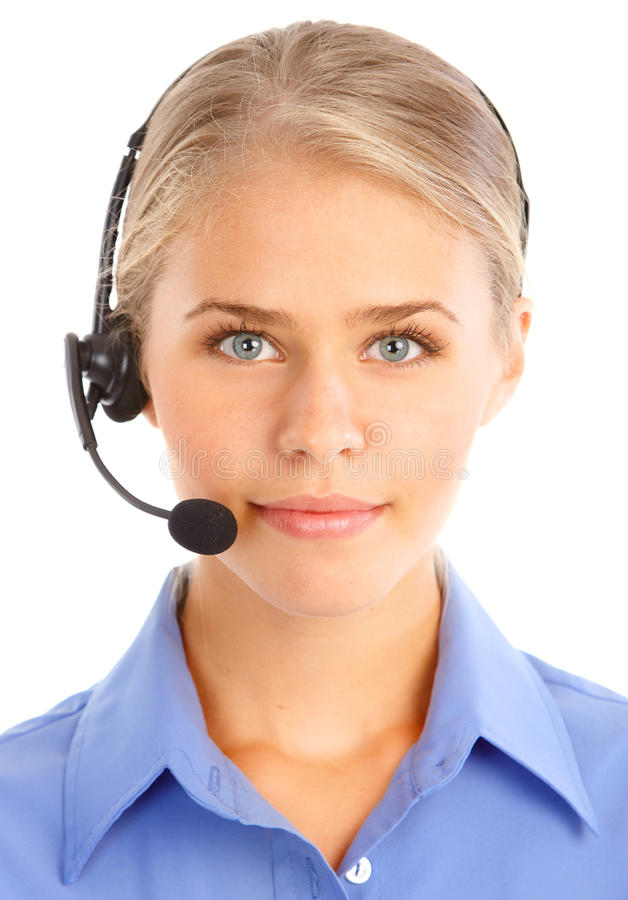 Call Center Operator stock photos