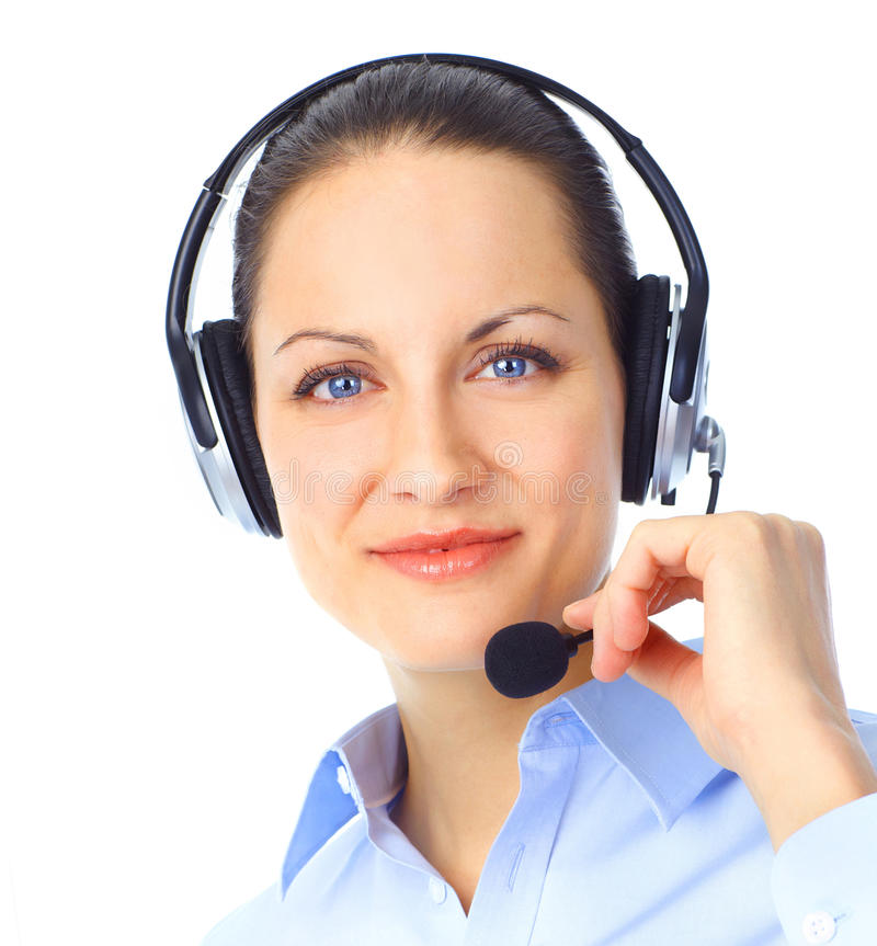 Download Call Center Operator stock photo. Image of consultation - 18332574