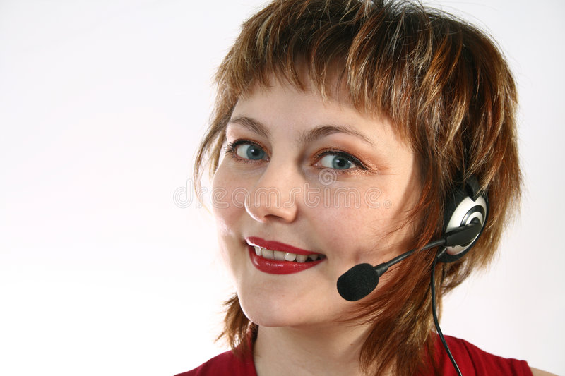 Download Call-Center representative stock image. Image of headset - 7368875