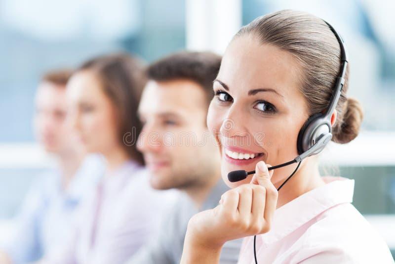 Call-Center-Team stockfotos