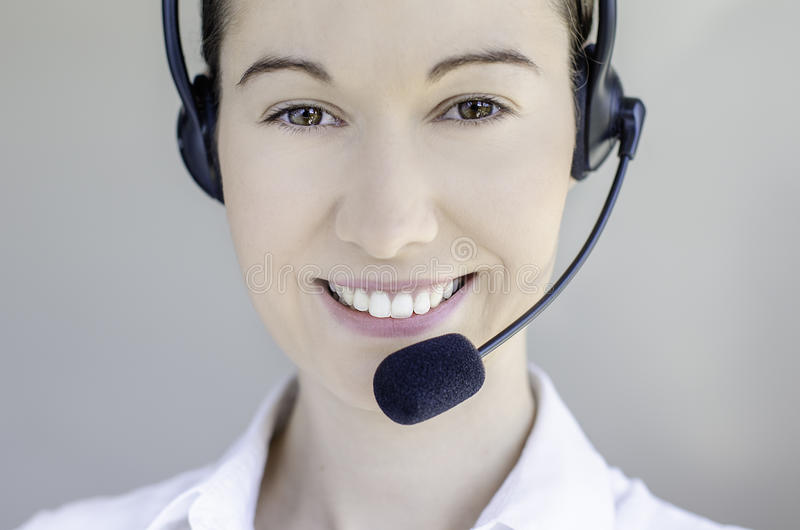 Download Call center woman stock image. Image of center, lady - 26841421