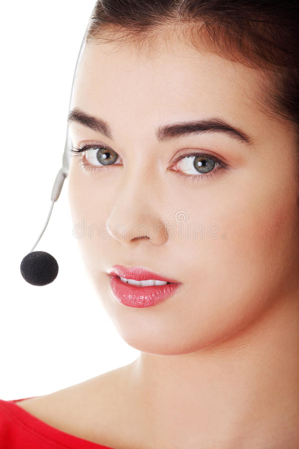 Download Call center woman stock photo. Image of customer, lady - 28393262