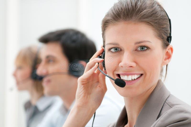 Call centre royalty-vrije stock foto