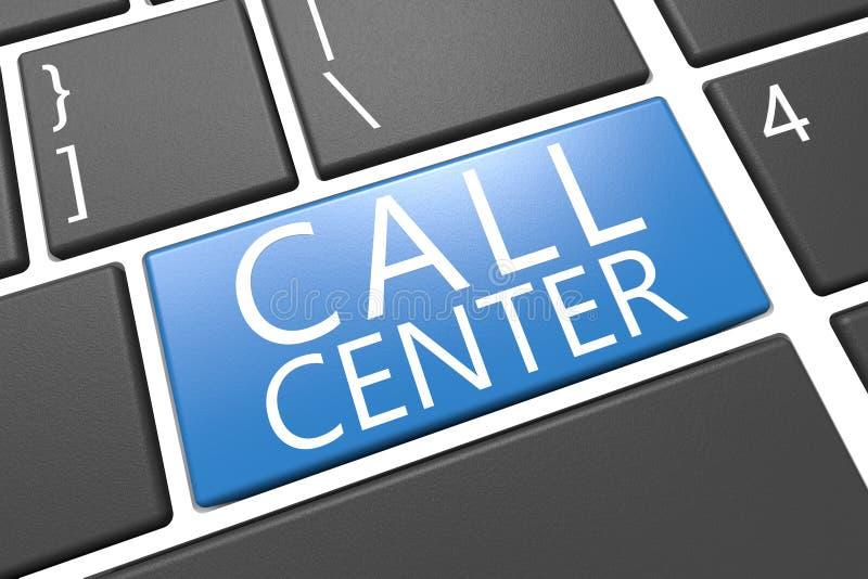 Call centre royalty-vrije stock afbeelding