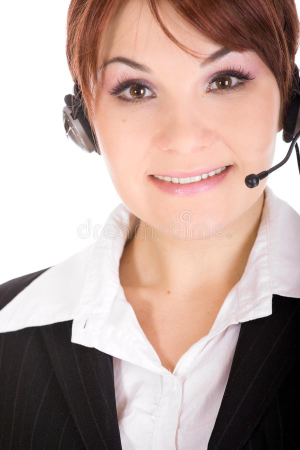 Call Centre Stock Afbeelding