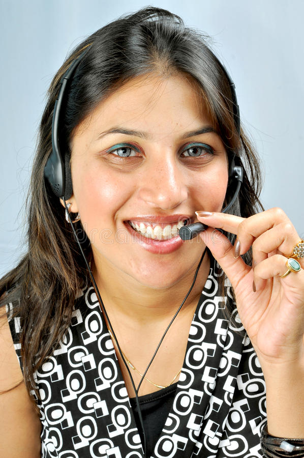 Download Call centre executive stock image. Image of centre, communication - 10599335