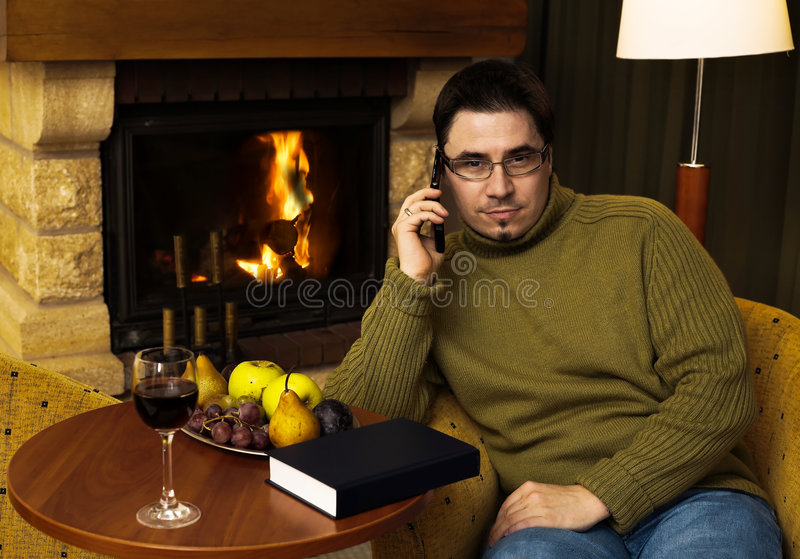 Download A Call From Home Royalty Free Stock Photo - Image: 1716645