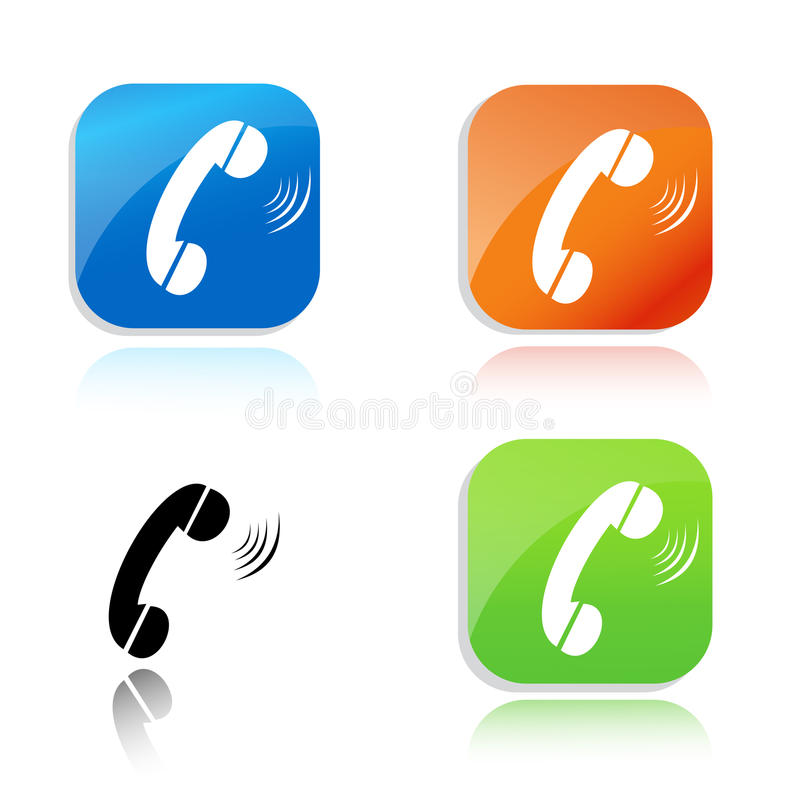 Download Call Icon Stock Photo - Image: 26138760