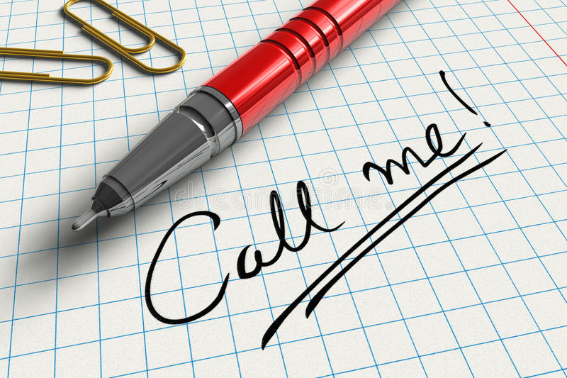 Download Call Me! Stock Photo - Image: 15072780