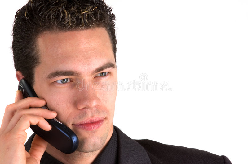Call Me 2 (Isolated) royalty free stock image