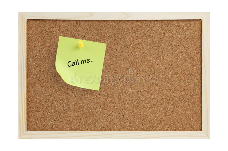 Download Call me Note stock photo. Image of isolated, border, empty - 11910480