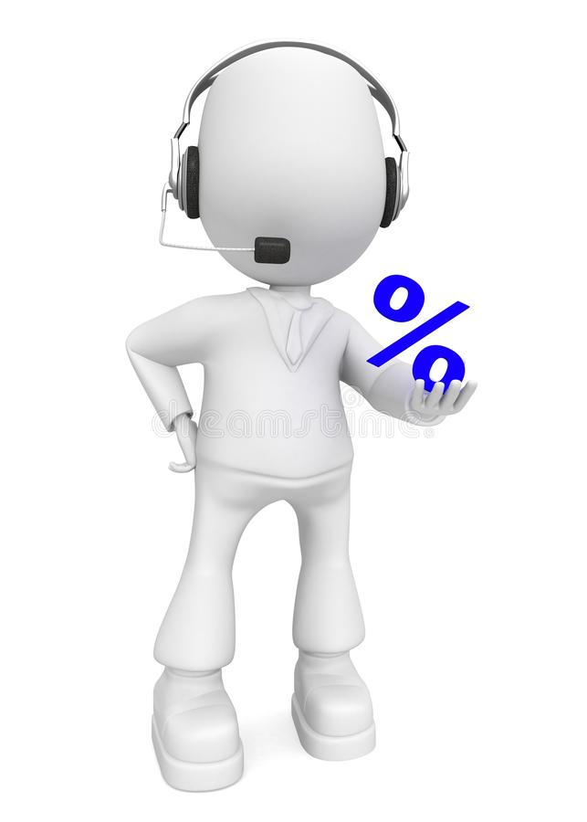 Download Call Me To Now Your Percent) Stock Photos - Image: 11119163