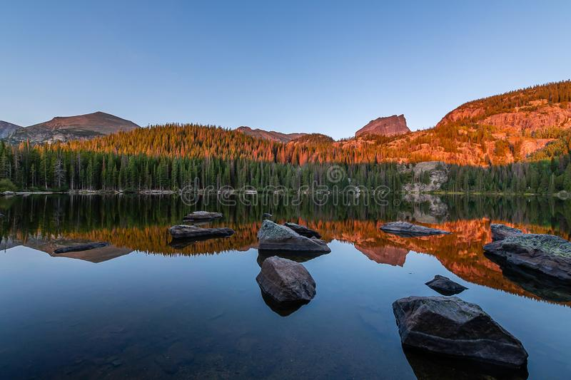 The call of Rocky Mountain National Park royalty free stock images