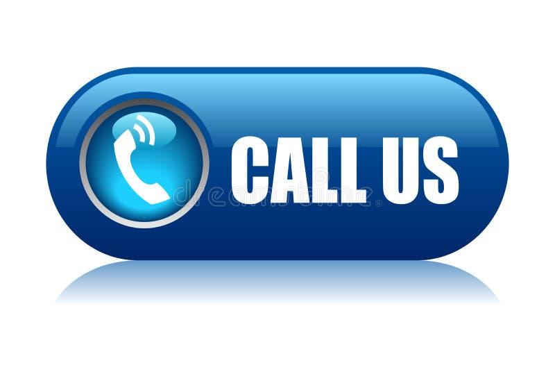 Call us button stock illustration