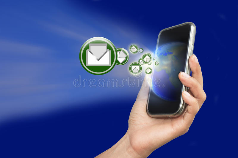Call the world. royalty free stock photography