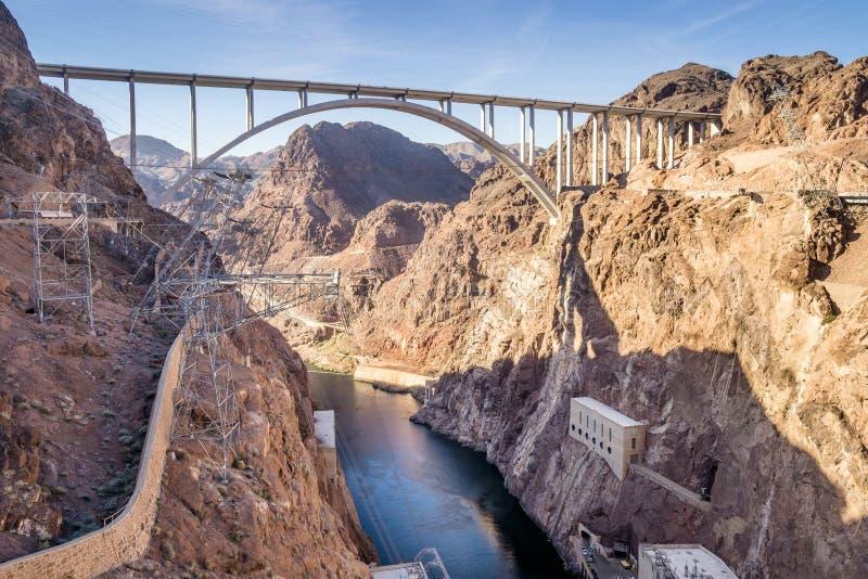 ` Callaghan - Pat Tillman Memorial Bridge de Mike O fotos de stock royalty free