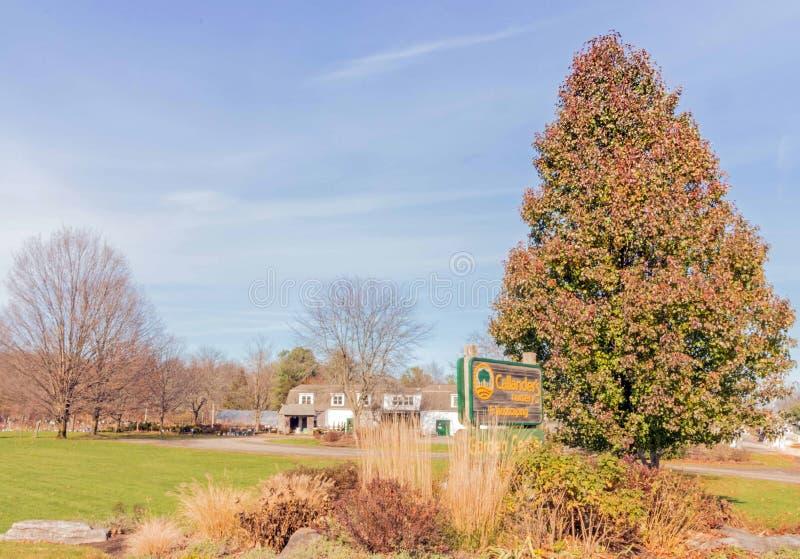 Callander's Nursery and Landscaping stock fotografie