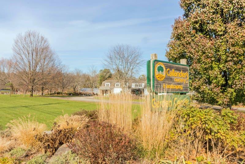 Callander's Nursery and Landscaping stock foto