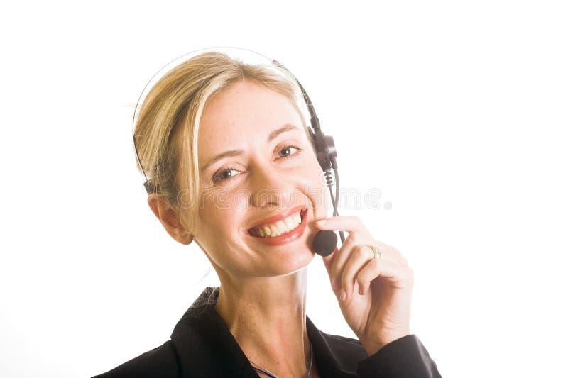 callcenter royaltyfri foto