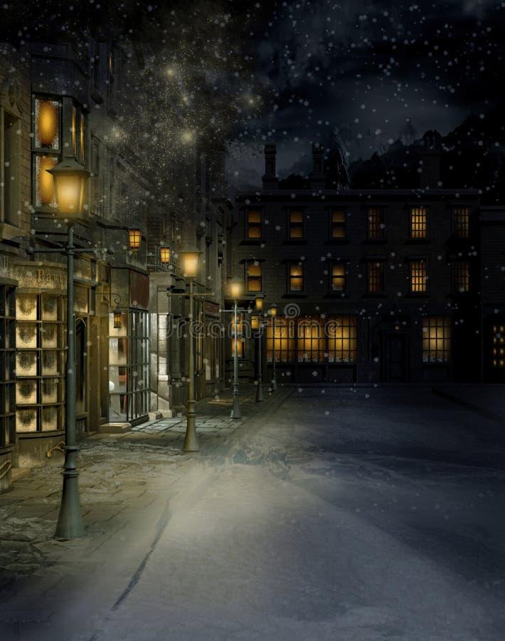 Calle 2 del Victorian libre illustration